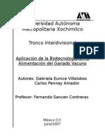 BiotecBiotecnologia y Ganadonologia y Ganado