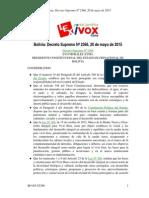 Ds2366 Autoriza Exploración Hidrocarburos en Areas Protegidas 2015