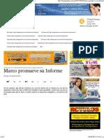 02-08-15 Marco promueve su informe