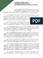 DS N 2400 Complementaciones y Modificaciones Al Regl Ambiental Para El Sector Hidrocarburos
