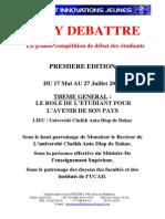 Projet Kaay Débattre