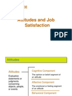 3. Attitudes and Job Satisfaction