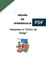DISEÑO DE SESIÓN DE EDUCACIÓN ARTÍSTICA
