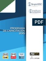 Calendario Capacitación Grupo SSC 2015