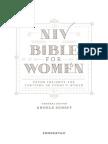 NIV Bible For Women Sample Text