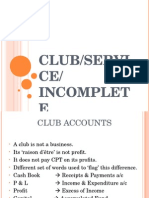 ClubServiceIncomplete PowerPoint