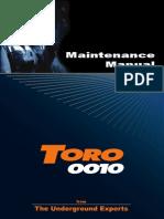 Maintenance Toro 0010