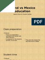 Finland vs Mexico Education