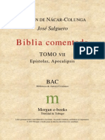 Bac - Biblia Comentada - Tomo Vii - Epistolas Y Apocalipsis.pdf