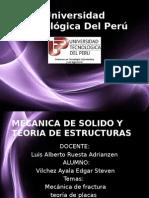 Mecanica de Fracturas y Teoria de Placas