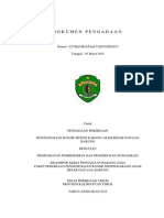 Dokumen Pengadaan Barang & jasa Terbaru