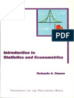 Introduction to Statistics and Economies