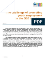 The Challenge of Promoting Youth Employment in the G20 Countries