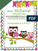 parentpacket - kindergarten