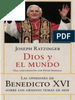Ratzinger Joseph - Dios Y El Mundo.pdf