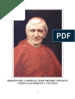 Newman John Henry - Cristo Sacerdote Y Victima.pdf