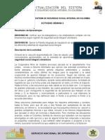 Actividad Semana 3 Gisela Carmona Fuentes - Sistema Integral de Seguridad Social