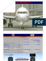 A320-Taxi and Before Ckeck-List