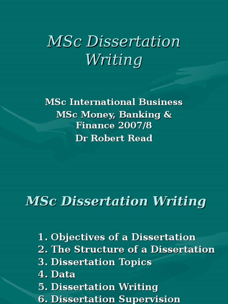 Dissertation on mediation