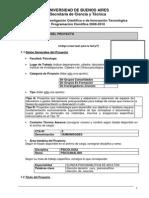 Lombardi G - Momentos Electivos en El Tratamiento Psicoanalitico de Las Neurosis (Proyecto_UBACyT_P039)