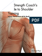 The Strength Coach's Guide to Shoulder Training