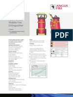 6602 75kg ABC Mobile Extinguisher