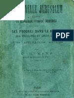 Charles Humann La Nouvelle Jerusalem d'Apres Les Enseignements d'Emmanuel Swedenborg Paris 1889