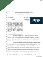DeGroote v. Mesa, City of et al - Document No. 3