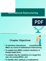Multinational Restructuring