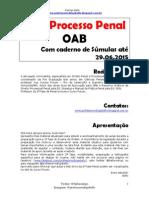 1ª Fase Processo Penal - Bello - Apostila - 2015