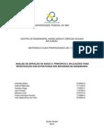 Relatório Análise DRX