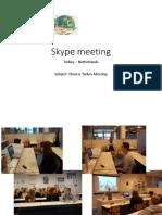 Skype Meeting TK NL 1
