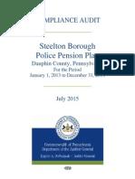 Compliance Audit Steelton Police Pension Plan