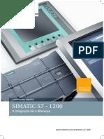 Brochura SIMATIC S7 1200 Portugues