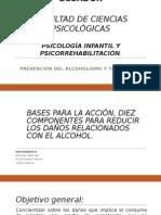 Bases Para La Acción, Diez Componentes Para Reducir Los Daños Relacionados Con El Alcohol.