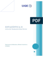 Guía Estadística II 2013