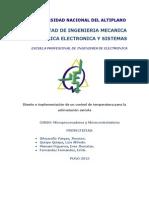 Proyecto Aclimatacion Avicola