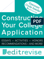 Constructing Your College Application