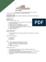Checklist Previaje Transportes Kortmann