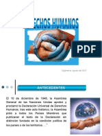 5ta. CÍVICA Derechos Humanos