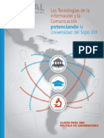 Las TIC Potenciando la Universidad Del S XXI-TICAL2015