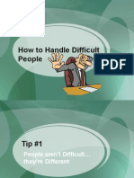 5-DealingwithDifficultPeople
