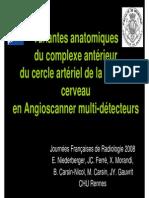 Variantes Complexe  communicant Anterieur