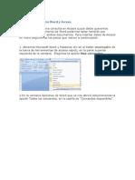Vincular Datos Entre Word y Access
