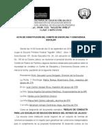 Acta Comité de Disciplina