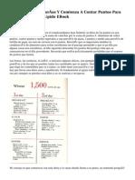 Deja De Sumar Calorías Y Comienza A Contar Puntos Para Adelgazar Más Rápido EBook