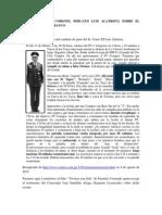 La Versión Del Coronel Peruano Luis Alatrista Sobre El Combate Del Barranco