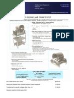 Helmke Drum Test  RTC-3000