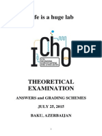47th IChO-Theoretical Problems With Solutions and Grading Schemes Final 26 07