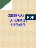 Ortesis Del Miembro Superior